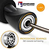 SPORTLAND Adjustable Skipping Rope for Gym Training and...