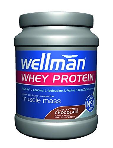 Vitabiotics Wellman Whey Protein Chocolate, 400 g