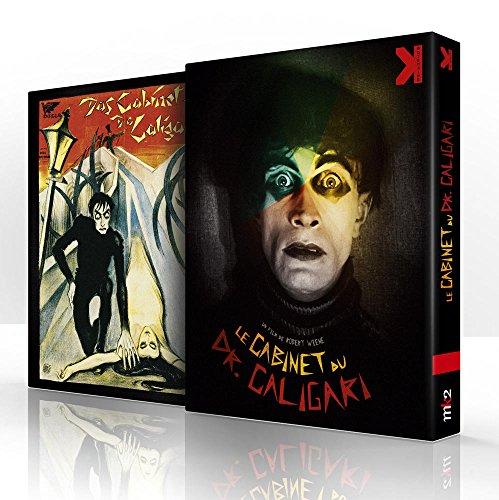 Le Cabinet du Dr Caligari + De Caligari à Hitler, une histoire psychologique du cinéma allemand [Combo Blu-ray + DVD]