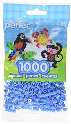 Perler Beads Pack (1000-Piece, Light Blue)