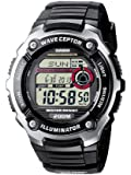 Casio WV-200E-1AVEF Men's Wave Ceptor Radio Controlled Watch, Radio Controlled