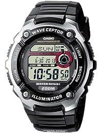 Casio Wave Ceptor Montre Homme Digitale avec Bracelet en Résine – WV-200E-1AVEF