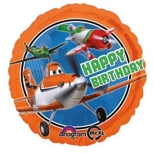 Disney Planes - Party Geburtstag Folien Ballon 43 cm (Disney Planes Folien Ballon)