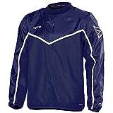 mitre Primero Veste d'entraînement pour Le Football Mixte Adulte, Bleu Marine/Blanc, FR : L (Taille Fabricant : L)