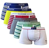 ROADSIGN 2er Oder 4er Pack Australia Herren Boxershorts Unterhose Unterwäsche Retro Shorts Boxer Trunks Retroshorts