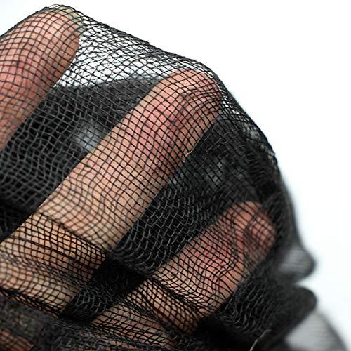 Schwarz Gruselige Tuch, Gruselige Halloween-Dekorationen, Halloween Spukhaus Party Dekoration Türöffnungen im Freien liefert, 315 '' X 79 '' - 4