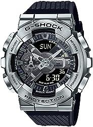 Casio G-Shock GM-110-1ADR Metal Face Men's Digital-Analog Wrist W