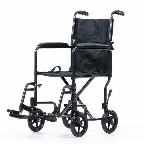 "Transportrollstuhl Reiserollstuhl Klapprollstuhl Faltbarer Rollstuhl Rollstuhl\""Antilope\"""