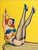 Impresión en Madera 120 x 160 cm: Flirt de Peter Driben