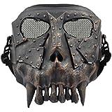 Softair Protektor Dessert Beast Maske (brushed metal)