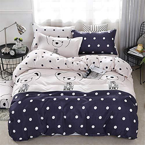 YUNSW Bettbezug Hochwertige Kinder Bettbezug Twin Voll Königin King Size Bettwäsche A 200x230cm (Twin Bettbezug Kinder)