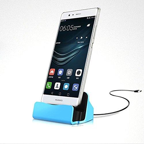 Aventus (Blau) Nokia Lumia 635 Mikro-USB-bewegliche aufladendock-Aufnahmevorrichtungs-Tischplattenaufladeeinheits-Station Cell-docking-station