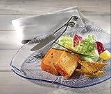 Servierteller Servierplatte Fischteller Glas Teller Snackteller Marine