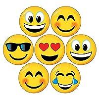 175 Mixed Emoji Emoticon Smiley Kids Childrens Pupils Reward Stickers 20mm Primary Teaching Services