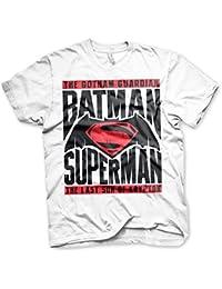 Offizielles Lizenzprodukt Batman Vs Superman T-Shirt(Weiß)