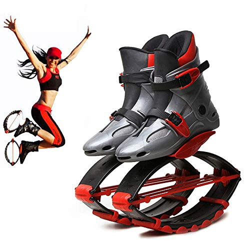 Fitness Bouncing Scarpe Anti gravità Esecuzione Stivali Rimbalzo Jumping Scarpa per Adulti Bambino