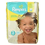 Pampers Premium Protection Größe 5, 20 Windeln