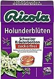 Ricola Holunderblüten ohne Zucker, 5er Pack (5 x 50 g)