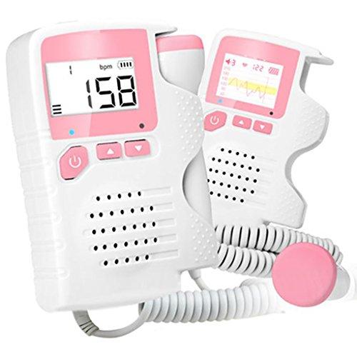 D&F Baby Sistema di Ascolto con Display LCD con Retroilluminazione E Casse Integrate Alta Sensibilità