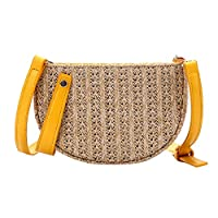 longrep Straw Crossbody Bag Women