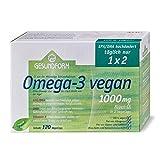 Gesundform Omega 3 vegan Algen-Öl Kapseln 1000 mg 120 St.