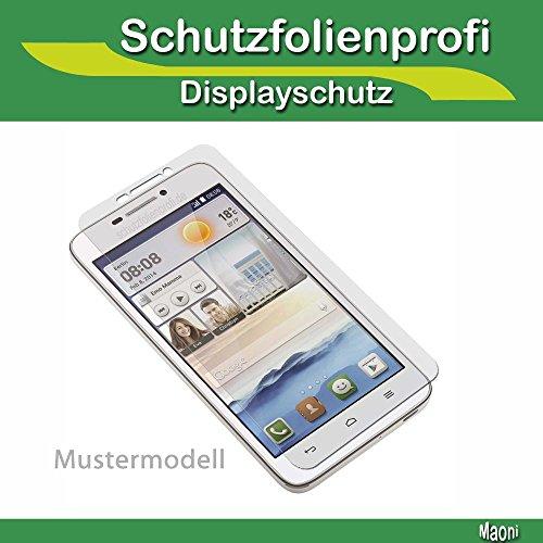 Allview E4 Lite - 3x Maoni Anti-Shock Bildschirmschutzfolie - kristallklare Premium Folie Crystal Clear Schutz Folie