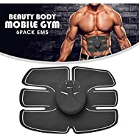 Beauty Body Mobile Gym 6 Pack EMS para Hombres y Mujeres estimulación eléctrica Muscular