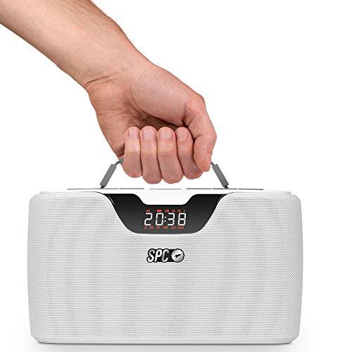 Radio SPC Storm Boombox Blanca 4503B