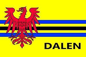 magFlags Flagge: Large Dalen vlag | Nederlandse Dorpsvlaggen | Querformat Fahne | 1.35m² | 90x150cm » Fahne 100% Made in Germany
