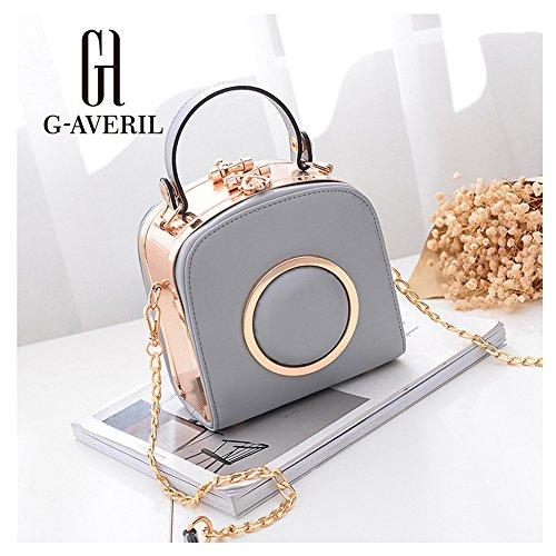 G-AVERIL, Borsa a zainetto donna Grigio Grey Grey