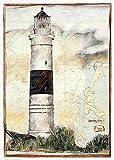 Kunstdruck/Poster: Ole West Kampen Sylt - hochwertiger