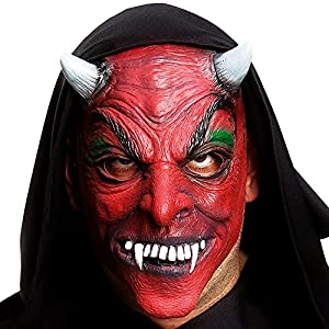 Carnival Toys 01133 - máscara de diablo para adultos