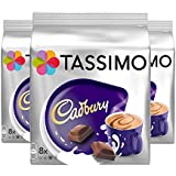 TASSIMO CADBURY Lot de 3 paquets de 24 capsules de chocolat chaud