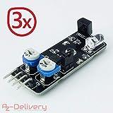 AZDelivery ⭐⭐⭐⭐⭐ 3 x KY-032 IR Hindernis Sensor Modul für Arduino