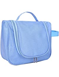 Zhhlaixing Large Capacity Hanging Toiletry Bag Organizer Waterproof Exquisite Travel Cosmetic Bag