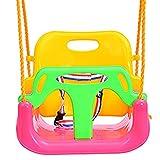 ZDDAB Kinderspielzeug Indoor Schaukel, Home Babyschaukel Outdoor Kinderhängesitz, Kinderschaukel Set (Farbe : Pink, Stil : B)
