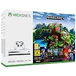 Xbox One 500GB Console - Minecraft Complete Adventure Bundle