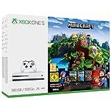 Xbox One S 500GB Console - Minecraft Complete Adventure...
