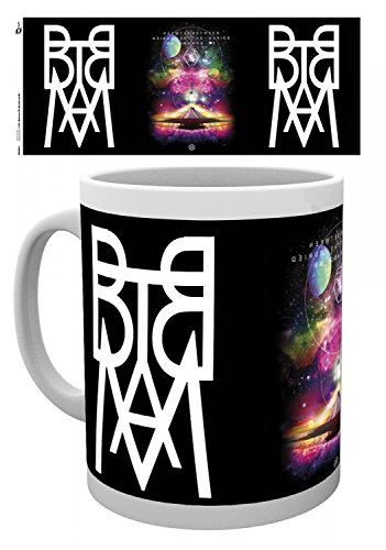 Set: Between The Buried And Me, BTBAM Logo Tazza Da Caffè Mug (9x8 cm) E 1 Sticker Sorpresa 1art1®
