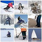 Dr.Warm Beheizbare Einlegesohlen Thermosohlen mit Intelligentem Drahtlose Fernbedienung, USB Wiederaufladbar Schuheinlagen für Skifahren Wandern Angeln Unisex (S 35-40 EU) - 5