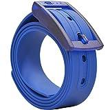 PlugBelt Azul Marino - Cinturon de golf para hombre, silicona, unitalla,...