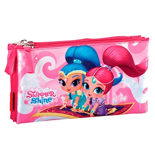 Shimmer And Shine Portatodo estuche triple plano