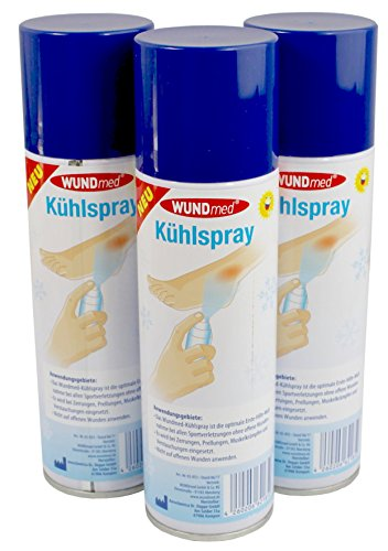 3 x 300 ml Kältespray Eisspray Kühlspray Vereisungsspray von Wundmed