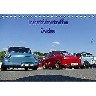 Trabantfahrertreffen Zwickau (Tischkalender 2018 DIN A5 quer): Impressionen des Trabantfahrertreffen (Monatskalender, 14 Seiten ) (CALVENDO Mobilitaet) [Kalender] [Apr 01, 2017] Richter, Heiko