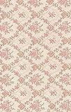 Klebefolie Möbelfolie - Biedermeier Blumenranken rosa - Dekorfolie Rosen 45x200 cm - Selbstklebende Folie - Bastelfolie - Selbstklebefolie Nostalgie