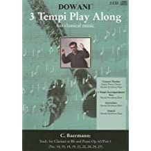C. Baermann: Study for Clarinet in Bb and Piano Op. 63