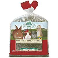 Western Timothy Petlife Oxbow Heno para mascotas pequeñas, 4,05 kg