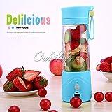 Moradiya Fresh Electric Juicer Blender 380Ml Juicer Cup(Assorted Color Will Be Send)