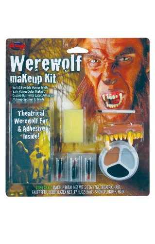 Komplett Make Up Kit Werwolf (Make Kit Up Komplettes)