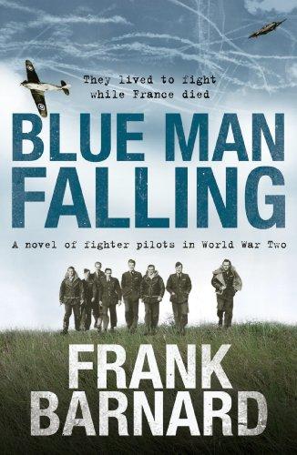 Blue Man Falling par Frank Barnard